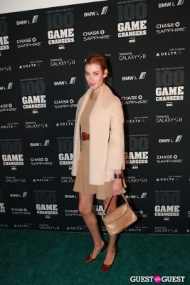 lauren remington-platt in 2011 Huffington Post and Game Changers Award Ceremony