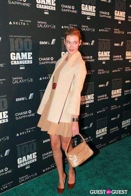 lauren remington-platt in 2011 Huffington Post and Game Changers Award Ceremony