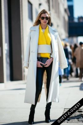 lauren remington-platt in NYFW Street Style Day 7
