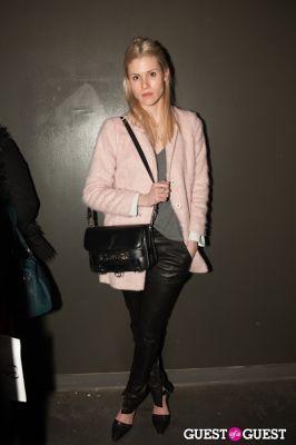 lauren rosenfeld in NYC Fashion Week FW 14 Street Style Day 2