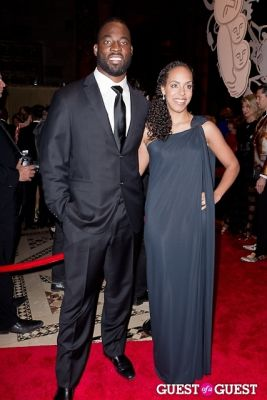 justin tuck in New Yorkers for Children Fall Gala 2013