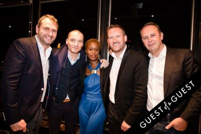 laurent guerrier in Ebony and Co. Design Week Party