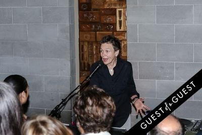 laurie anderson in EN Japanese Brasserie 10th Anniversary Celebration