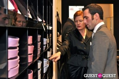 "laurie pike in Hugo Boss ""Boss Store"" Opening"