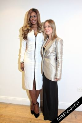 laverne cox in NYFW Style From the Tents: Street Style Day 6