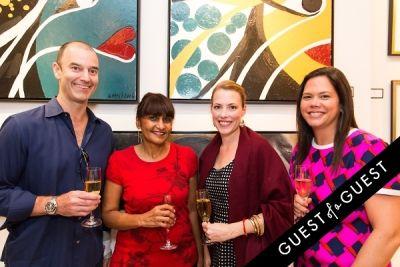 meagan gleason in P Street Gallerie Opening