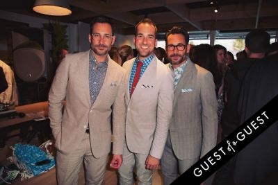 lawrence zarian in Bonobos Guideshop LA Opening
