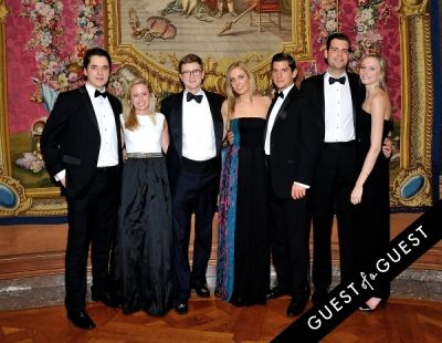 charlotte textor in The Frick Collection Young Fellows Ball 2015