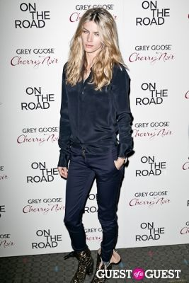 le call in NY Premiere of ON THE ROAD
