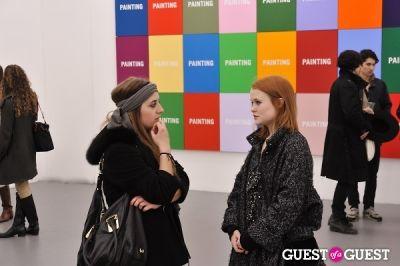 zoe kasten in Allen Grubesic - Concept exhibition opening at Charles Bank Gallery