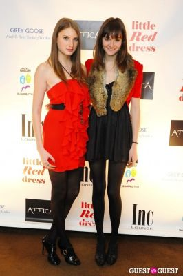 kate swain in Attica's Little Red Dress Event