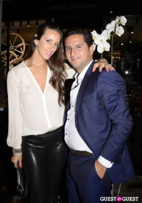 leeat benharrouch in Sergio Rossi Party at Bal Harbour Shops