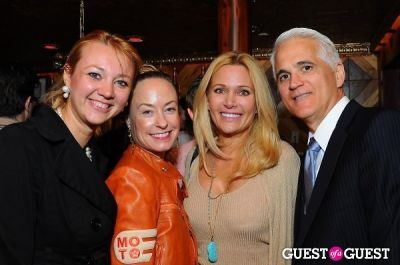 leesa rowland in FoodToEat.com Launch Party & Toast to Action Against Hunger at STASH
