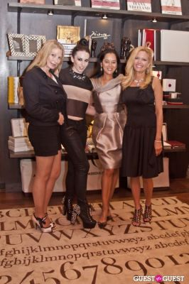 leesa rowland in Fashion 4 Development And Assouline Host Fashion's Night Out 2012
