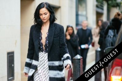 leigh lezark in London Fashion Week Pt 3