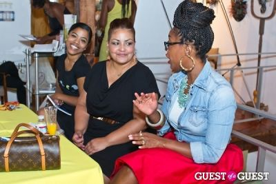 lejoi reese-kinsey in Brave Chick B.E.A.M. Award Fashion and Beauty Brunch