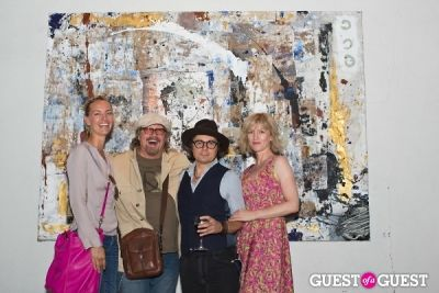 christopher wicks in Preview Party for Billy Zane's Solo Art Exhibition: