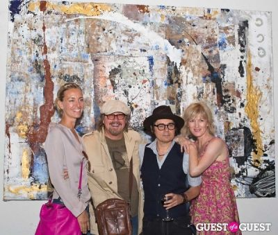 lena hermansson in Preview Party for Billy Zane's Solo Art Exhibition: