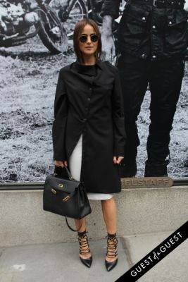 lena lademann in NYFW Style From the Tents: Street Style Day 6