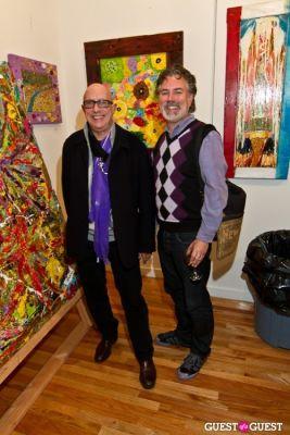 chuck taylor in Bermano Art Exhibition Hosted By NY Jet Ladainian Tomlinson