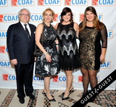 ana afeyan in COAF 12th Annual Holiday Gala