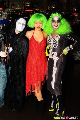 li jing in Patricia Field Aristo Halloween Party!