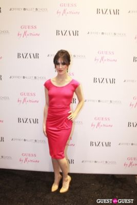 lia mandaglio in Guess by Marciano and Harper's Bazaar Cocktail Party