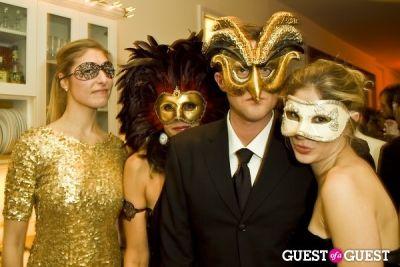lia strasser in Annual Blacktie Christmas Masquerade