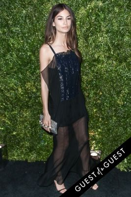 lily aldridge in Chanel's Tribeca Film Festival Artists Dinner