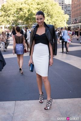lily kwang in NYFW 2013: Day 4 at Lincoln Center