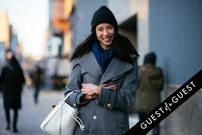 lily kwong in NYFW Street Style Day 4