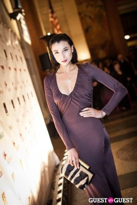 lily kwong in Brazil Foundation Gala