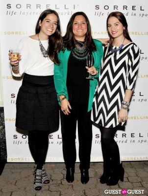 avery oswald in Sorrelli Montclair Store Opening