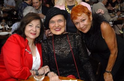 linda burns in Bernard Bierman's 101st Birthday Party