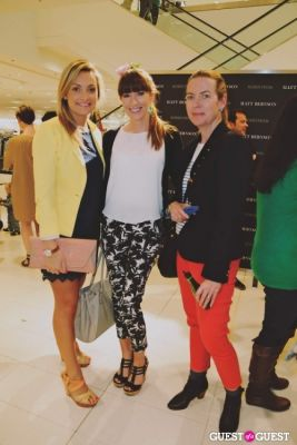 una fox in The Launch of the Matt Bernson 2014 Spring Collection at Nordstrom at The Grove