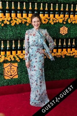 lindsey price in The Sixth Annual Veuve Clicquot Polo Classic Red Carpet