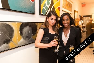 libby martin in P Street Gallerie Opening