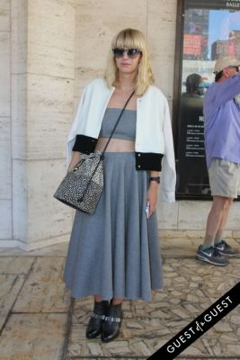 lisa denver in NYFW Style From the Tents: Street Style Day 1