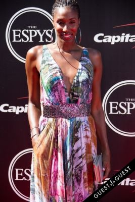 lisa leslie in The 2014 ESPYS at the Nokia Theatre L.A. LIVE - Red Carpet