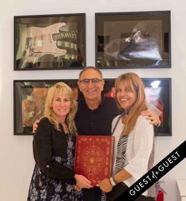 ron robinson in Lisa S. Johnson 108 Rock Star Guitars Artist Reception & Book Signing
