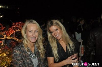 lizzie smith-and-lisa-buxton in Evolve Motorcycle Launch Party