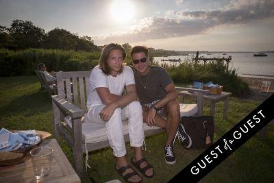 logan samuelson in GUEST OF A GUEST x DOLCE & GABBANA Light Blue Mediterranean Escape In Montauk