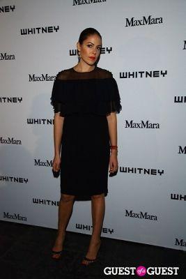 lola schnabel in 2013 Whitney Art Party