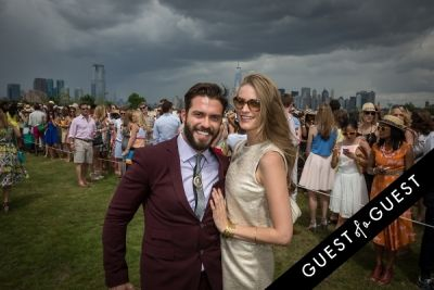 julie henderson in Veuve Clicquot Polo Classic 2014