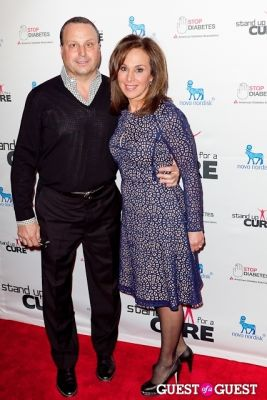 rosanna scotto in Stand Up for a Cure 2013 with Jerry Seinfeld