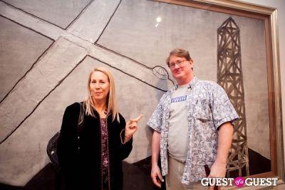 louise marler in David Lynch 'Naming' Opening Reception