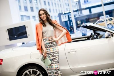 louise roe in Volkswagen & Audi Manhattan Dealership Grand Opening