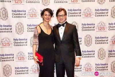 lucia pasqualini in Italy America CC 125th Anniversary Gala