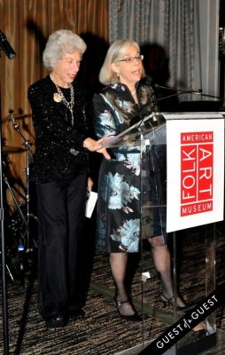 lucy danziger in The American Folk Art Museum Fall Benefit Gala