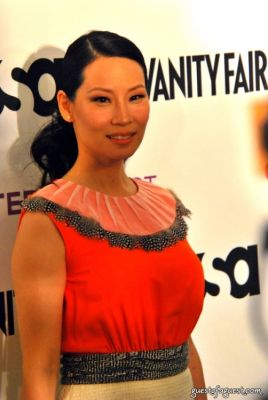 lucy liu in USA Network and Vanity Fair